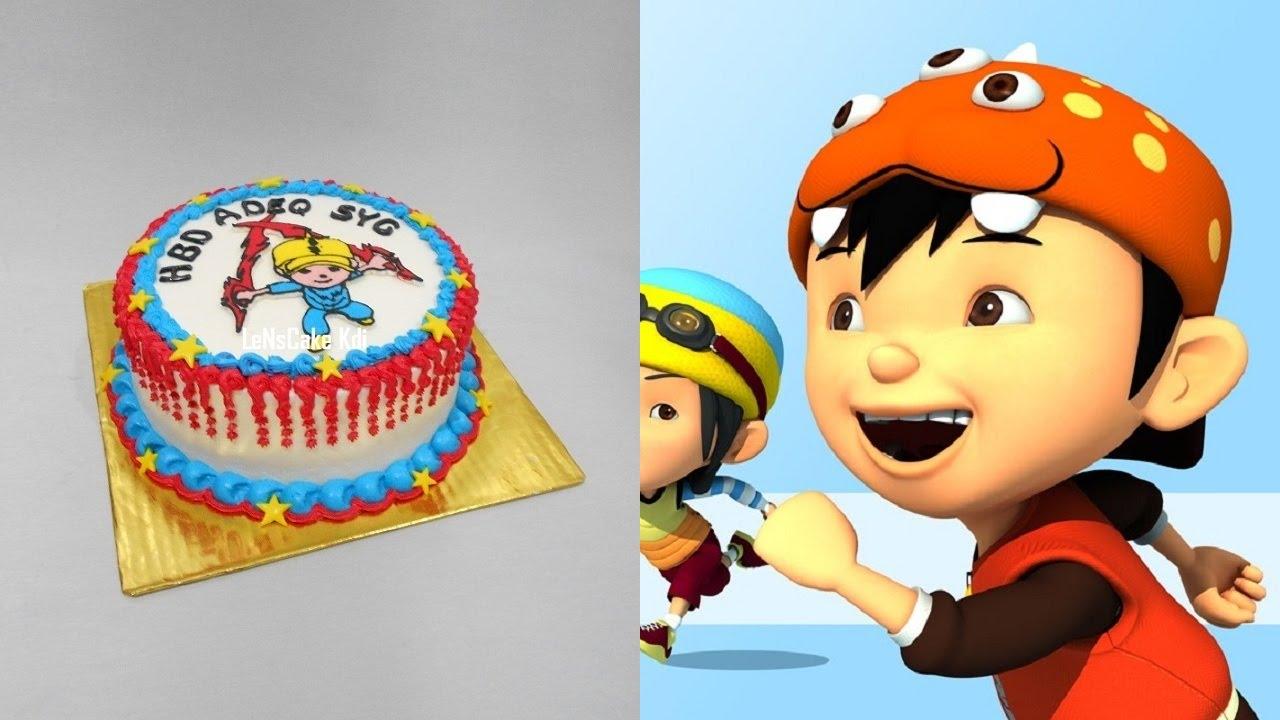Boboiboy Cake Topper