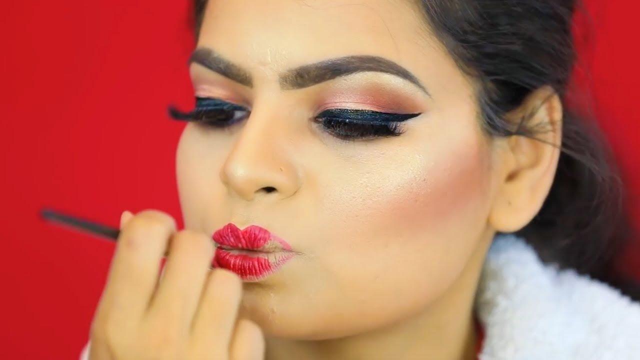 indian bridal makeup | step by step makeup for beginners (hindi) | shruti arjun anand