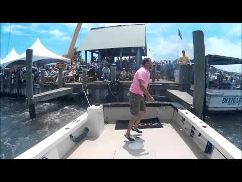 Cape Charles Boat Docking 2015