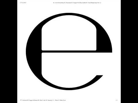 Ecco2K – Security! (Official Audio)