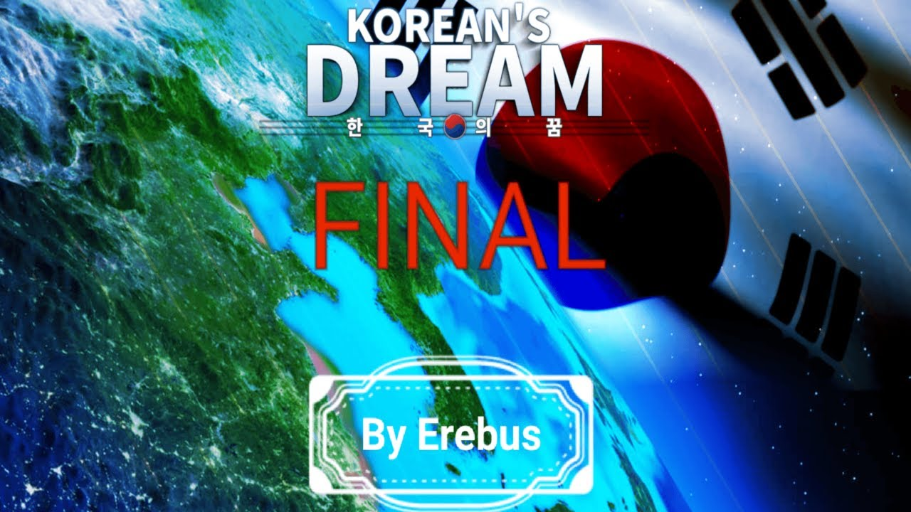 World Conqueror 4 Korea Dream Mod Final Version(세계 정복자 4 한국의 꿈 모드)