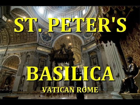 ST PETER'S BASILICA INSIDE & CLIMB to CUPOLA - tour - VATICAN CITY - ROME