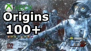 Origins Round 100+ Xbox one Black Ops 2 Zombies