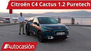 Citroën C4 Cactus Puretech 1.2 2018 | Prueba / Test / Review en español | Autocasión