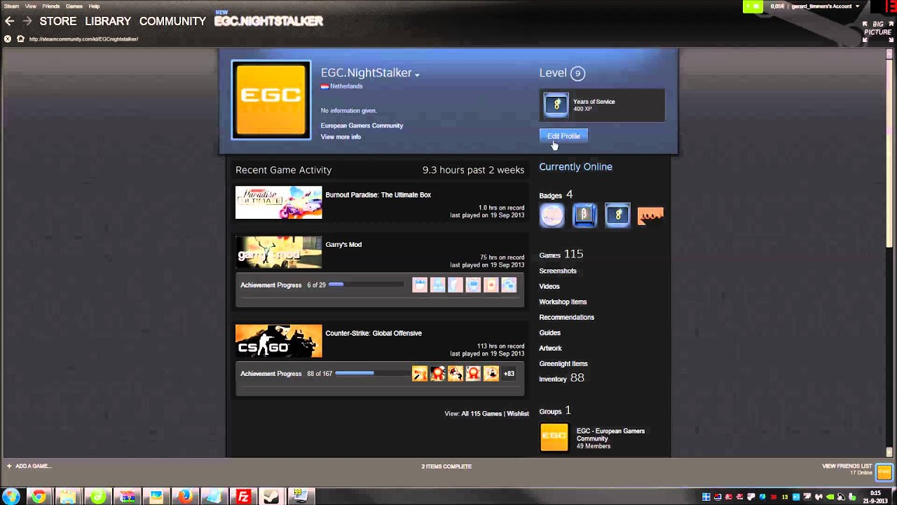 Steam Profil Url Finden