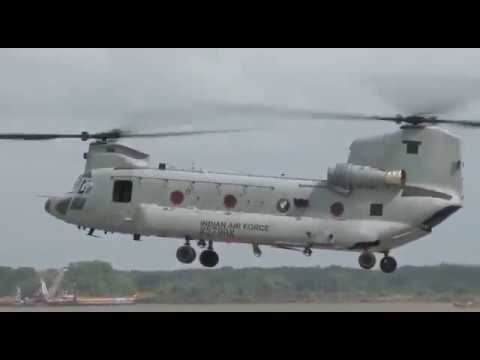 Video: INDUCTION OF CHINOOK HELICOPTERs IN INDIAN AIR FORCE