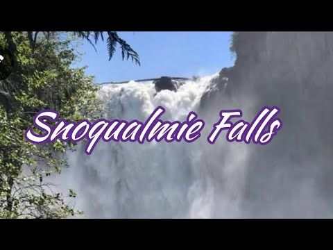 Snoqualmie Falls Seattle WA/Seattle Vlog/ Snoqualmie Fall a 270 Foot / A Legacy of Natural Wonder