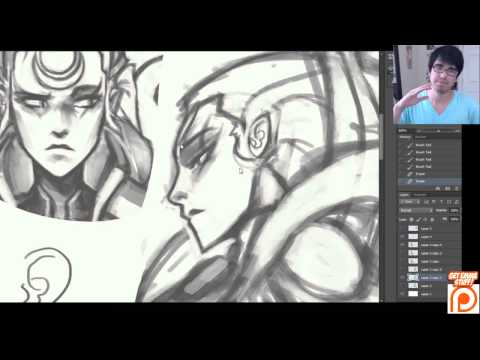 KNKL Tutorial Tuesday #184: Sketching And Refining Diana