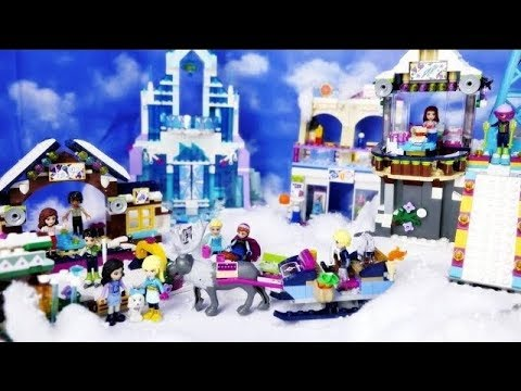 lego friends stiory in english weekend winter christmas snow ...