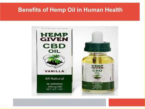 benefits-of-hemp-oil-in-human-health
