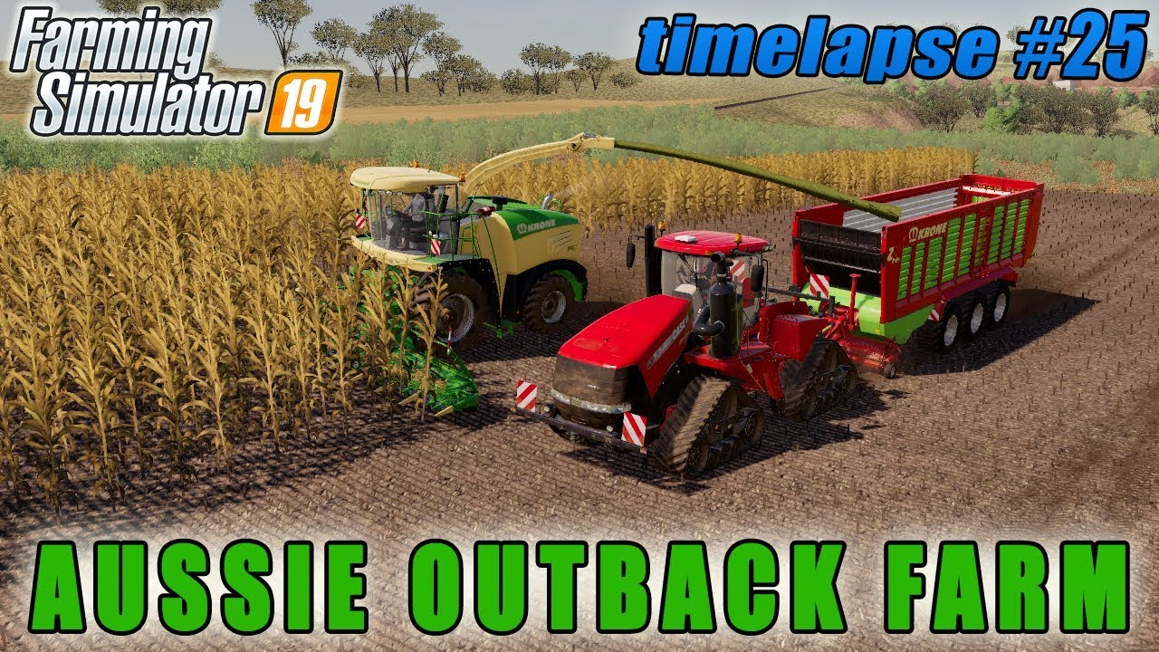 Buying new tractor and second silo bunker | FS 19 | Aussie Outback  Australia Farm | Timelapse #25