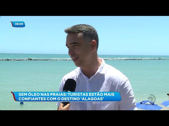 Alagoas volta a ser um dos destinos mais procurados pelos turistas