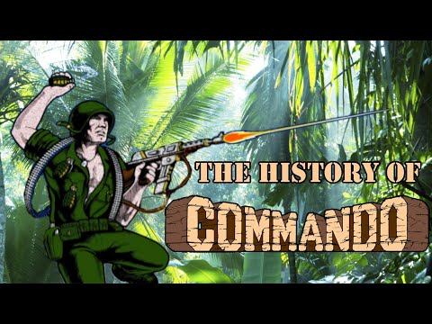 The History Of Commando – Arcade/console Documentary