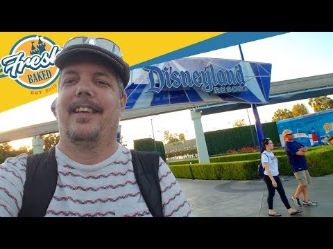 Remembering the classic Disneyland entrance on Harbor   10/27/18 Pt. 1