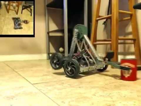 VEX Robotics Clawbot Test - YouTube