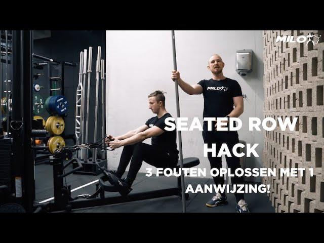 Seated Row Hack