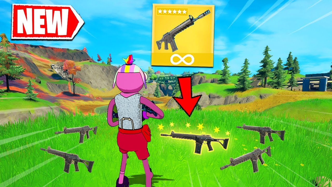 Fortnite but i only use COMBAT ASSAULT RIFLE (overpowered)