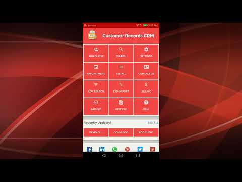 Best CRM App for Android Mobile Phones and Tablets to manage Client Contacts