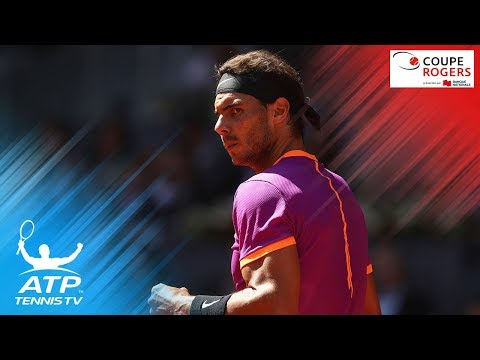 Watch Nadal, Federer in Coupe Rogers 2017 live HD streaming on Tennis TV!