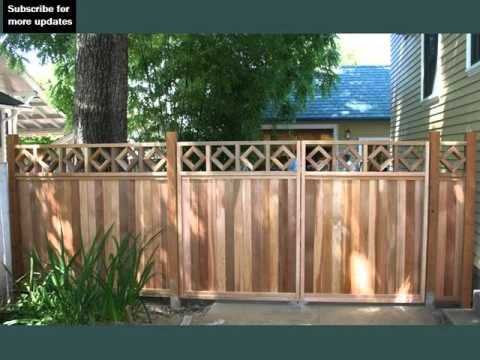 Decorative Fences For Front Yards Fence Collection And