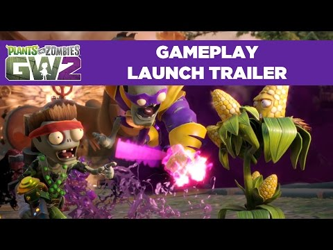 Plants vs. Zombies Garden Warfare 2 Launch Gameplay Trailer
