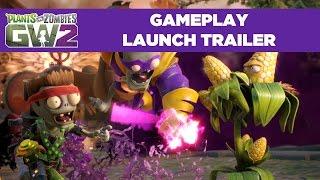 plants vs zombies garden warfare 2 launch gameplay trailer