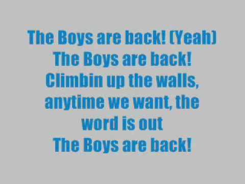 The Boys Are Back-High School Musical 3(HQ/lyrics)