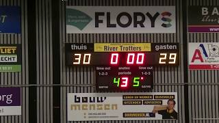 5 october 2019 Rivertrotters MSE2 vs LUSV basketbal MSE1 59-55 2nd period