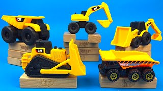 Project CAT Construction & Demolition with CAT Big Wheels Mighty Machines Matchbox on a Mission
