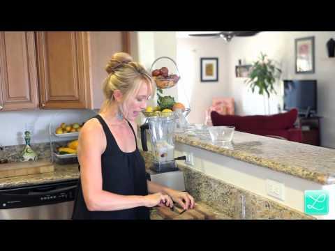 Raw Peaches & Cream Smoothie Recipe