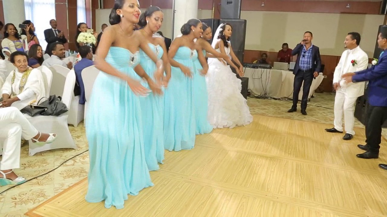 Beautiful Ethiopian wedding Wolaita dance, Natty and Bethelem Lema ...
