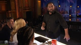 Americas Got Talent 2016 Jon Dorenbos Philadelphia Eagle Magician Full Audition Clip S11E04