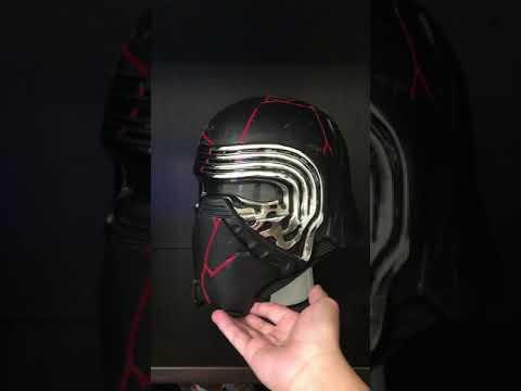 The Rise Of Skywalker Kylo Ren Helmet Tinker Youtube