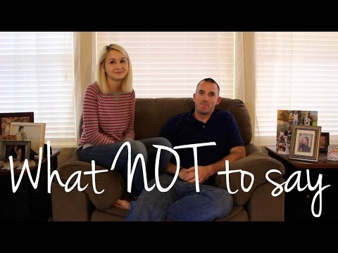 10 things NOT to say to someone going through IVF or infertility