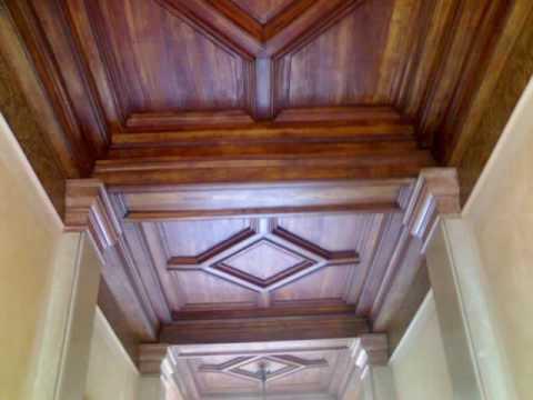 Soffitto In Legno Finto : Finto marmo e ripristino legno youtube
