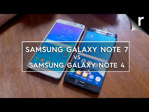 samsung galaxy note 7 vs note 4 what 39 s changed youtube. Black Bedroom Furniture Sets. Home Design Ideas