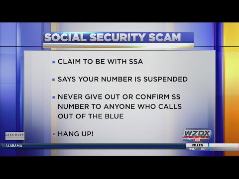 Gotten a call from Social Security? It's a SCAM! What you