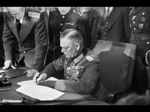 German Surrender Ceremony Berlin w/GFM Keitel