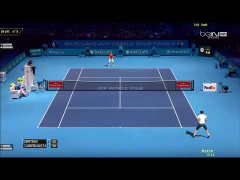 Tennis Elbow 2013 | ATP World Tour Finals 2017 | Groupe Sampras | Dimitrov vs Carreño Busta