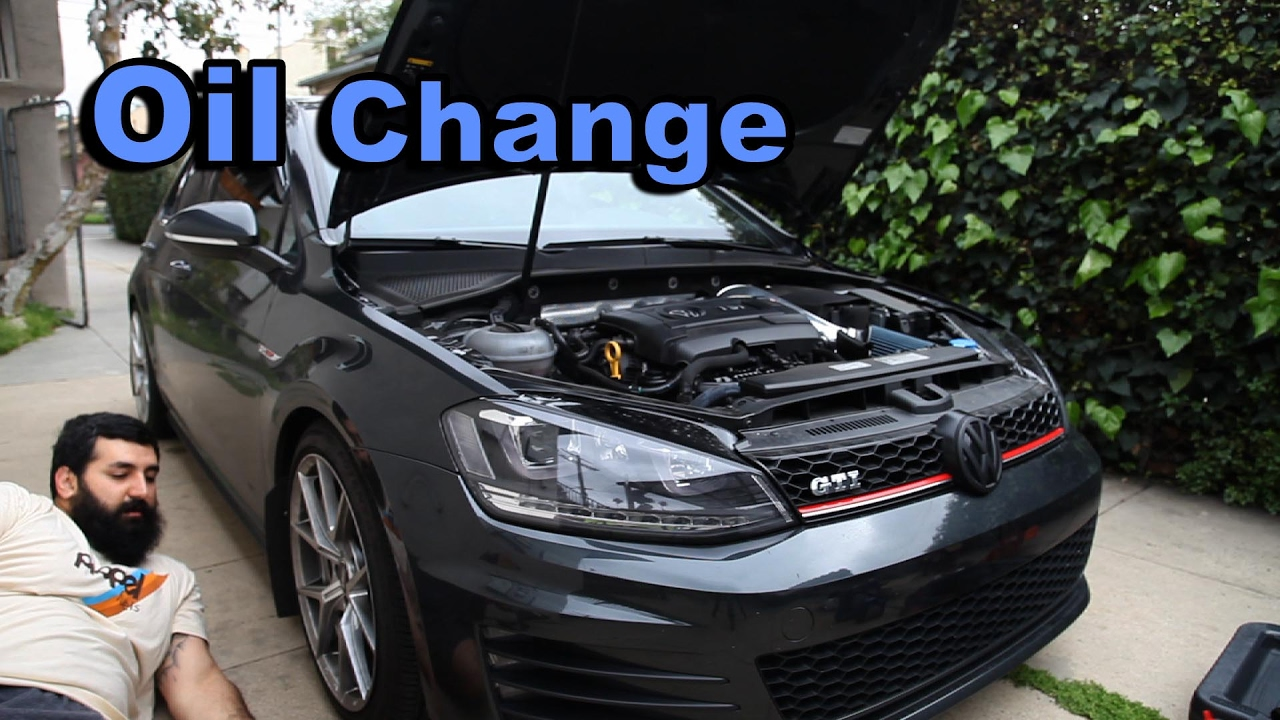 Vw Mk7 Gti Oil Change Diy