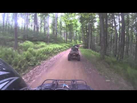 GoPro Hero4 Black - 6-5-15 - ATV ride State Land in Coudersport, PA - Trip 2