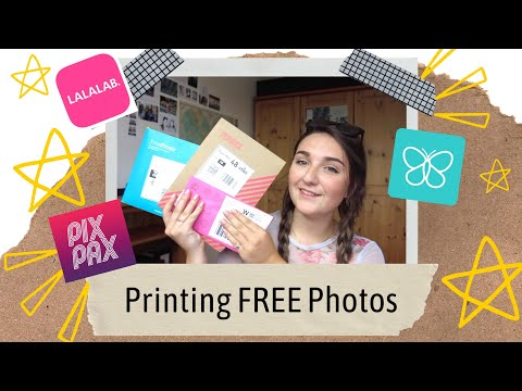 How To Print Photos For Free! | LALALAB. Free Prints. PIXPAX
