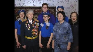 Ветеран ВОВ Пётр Колодий отмечает 95-летний юбилей