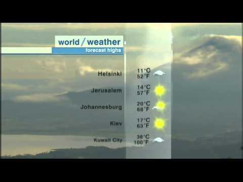 CNN International Weather Theme 2