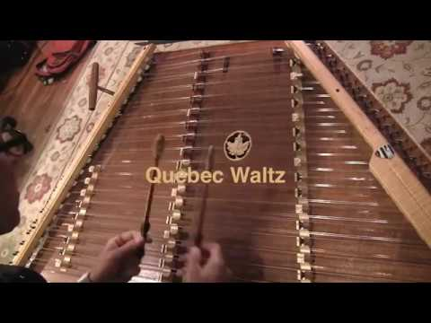 Quebec Waltz, Hammered Dulcimer Video Lesson Intro by Ken Kolodner