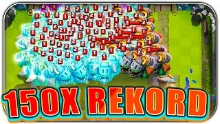 OMG 150x INFERNODRACHE WELTREKORD | Clash Royale Let's Play | Deutsch German