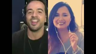 DESPACITO DUET WITH LUIS FONSI