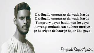 Temporary pyar - Adaab kharoud ft kaka - New punjabi songs 2020