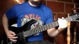 Rhapsody of Fire / Luca Turilli - Gargoyles Angels of Darkness (Part 3) Guitar Solo + TABS