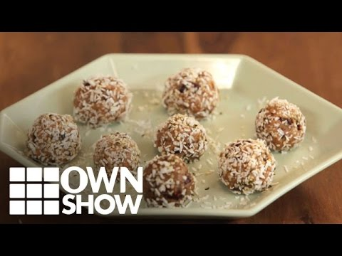 Recipe: How to Make Superfood Cookie Dough Bites | #OWNSHOW | Oprah Online